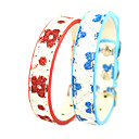 Adjustable PU Leather Butterfly Collar for Pets Dogs/Cats(Assoted Colors,Sizes)