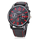 Buy Men's Watch Dress Casual Silicone Strap Wrist Cool Unique Fashion