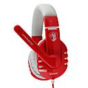 Somic G927YY Stereo Gaming USB 7.1 Sound Channel Over-Ear hovedtelefoner med mikrofon og Remote til PC