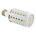 E26/E27 10W 60 SMD 5050 1000 LM Cool White T LED Corn Lights AC 85-265 V