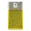 Bubbling Beer Pattern Protective Hard Back Case Cover for Samsung Galaxy Note3 N9000