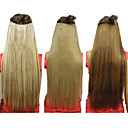 5 Klipsli Sentetik Düz Saç Uzantıları 25 Inch Klip (Karışık 3 Renk)
