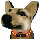 Moderigtigt DIY LED Collar til kæledyr Hunde (assorterede farver)