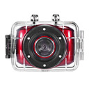 HD720P-F5R Mini Handling Videokamera (Red)