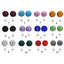 Fashion Shambhala Rhinestone Stud Earrings(More Colors)(1 Pair)