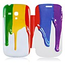 Stereoscopic Oil Leather Full Body Case for Samsung Galaxy S3 Mini I8190