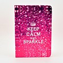 Keep Calm and Sparkle Pattern Full Body Case with Stand for Samsung Galaxy Tab 2 10.1 P5100/P5110