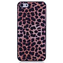 Lureme Leopard Print  Plastic Back Case for iPhone 5/5S
