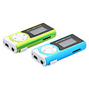 TF Card Reader Digital Mp3 Player with Flashlight Function and Clip
