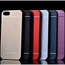 Metal Finish Hard Cover Case for iPhone 4/4S (Assorted Colors)