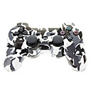 Telecomando Dual Shock Six Axis, senza fili, bluetooth, per PS3, fantasia militare