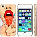 Fashion Sexy Girl Design Plastic Hard Case Cover for iPhone 5/5S