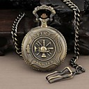 Miesten Round Hero Palomies Quartz Analog Pocket Watch