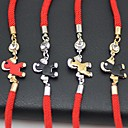 Have A Change Of Luck Horse Pattern Red Rope Bracelet(1pc)
