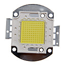 DIY 100W High Power 8000-9000LM Cool White Light integrert LED-modul (32-35V)