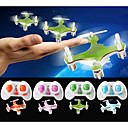2.4G 4ch Micro RC Quadcopter med Gyro