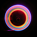 Berbasikal 5 LED 7 Bike Wheel Mod Bercakap Valve LED Light