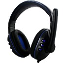 Head Style Headband Bluetooth Headset with Light for PS4/PS3/XBOX360 Console