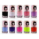1PCS Candy Color Environmental Protection Nail Polish NO.1-17(Assorted Color)