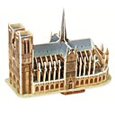 Magic Puzzle Notre Dame de Paris Model 3D Puzzle for Children and Adult Jigsaw Puzzle(39PCS)