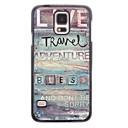 Live Travel Design Aluminium Hard Case for Samsung Galaxy S5 I9600