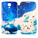 CaseBox® Sea Mew and Blue Sky Pattern Full Body Case for Samsung Galaxy S4 I9500