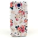 patrón de la flor hermosa portada del estuche rígido para Samsung Galaxy i9500 s4