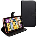 Solid Color PU Leather Full Body Case with Card Slot for Nokia Lumia 1320