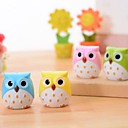 Owl Shaped Double Holes Pencil Sharpener(Random Color)