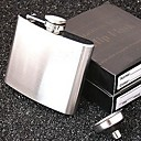 Men's Portable Stainless Steel Hip Flask(5 OZ, with Funnel)