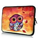 Elonno Cute Owl 10'' Tablet Neoprene Protective Sleeve Case for HP iPad 2/4/5 Samsung Galaxy Note 10.1/Tab 3