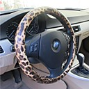 LEBOSH™High Quality Ultra-fine Fiber Leather Wild Leopard Print Steering Wheel Cover
