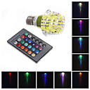 MLSLED 3 W 1 High Power LED 130-160 LM RGB Remote-Controlled Globe Bulbs AC 220-240 V
