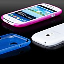 Ultra Thin Frosted Cover Case for Samsung Galaxy S3 Mini 8190 (Assorted Colors)