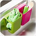 מדפי פלסטיק עיצוב suctorial רב תכליתיים&בעלים (x1pcs צבע אקראי)