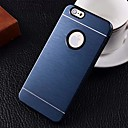 2 in 1 Metal Brushed Hard Case for iPhone6 (Assorted Colors)