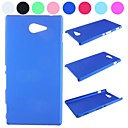 Pure Color Non-Slip Design Hard Case for Sony Xperia M2 S50h(Assorted Colors)