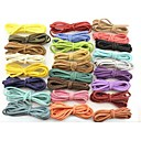 1 Meters Mixed Color Waxed Cotton Beading Cord 2.6mm for Bracelet Necklace 26 Color (Random Color)