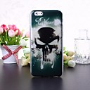 Cool Skull Pattern Transparent TPU Soft Case for iPhone 6 Plus