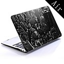 new york city design full-body beskyttende plastic tilfældet for 11-tommer / 13 tommer nye MacBook Air