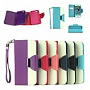 Buy Leather Wallet Case Flip Stand Cover Card Holder iPhone 6 (Assorted Colors)