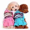 Winter Wedding Mixed Material / Cotton / Terylene Dresses for Dogs / Cats Green / Pink / Orange XS / S / M / L / XL