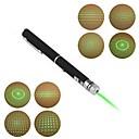 lt-012 penn form 5-mønstre grønt lys laserpeker (3mw.532nm.2xaaa.black)