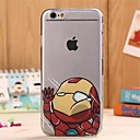 Hit  Face   Pattern TPU Soft Cover for iPhone 6S Plus/6 Plus