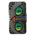 Buy Kinston Special Shining Eye Monster Pattern PU Leather Full Body Case Stand iPhone 4/4S
