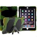 Diamond PU Protective Cover with Bracket for iPad 6