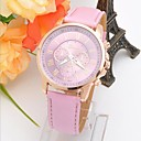 Buy Women's Fashion Style Leather Band Quartz Analog Wrist Watch (Assorted Colors) Cool Watches Unique