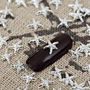 Buy 5Silver Metallic Shining Star Nail Art Alloy Jewelry Tips Vernish Manicure Decorations