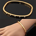 Buy U7® New Fashion 18K Real Gold Plated Austrian Rhinestone Cuff Bracelets Bangles Women Jewelry Christmas Gifts