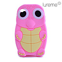 Silicon Cartoon Turtle Pattern Soft Case for iPhone 4/4S